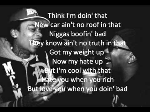 Wiz Khalifa - Gone Ft. Juicy J (Lyrics)
