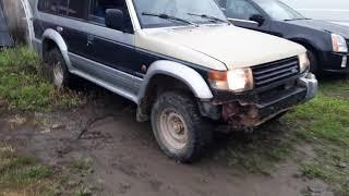 В разборе Mitsubishi Pajero, Montero 2 1991-2004 3.0 133 л.с 6G72/МКПП 4WD универсал...