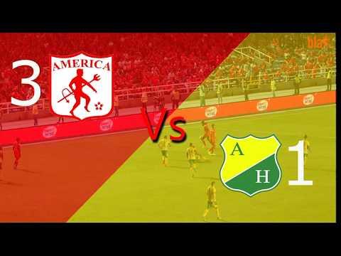 América de Cali Vs Atlético Huila - Fecha 12 Liga Aguila 2 -  2017