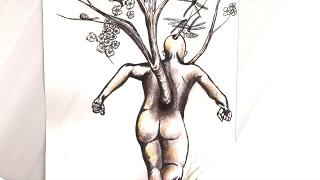 "Ilustración ""Pensamientos"": Yakín Gaytán Artista: Uno Álbum: Ottati..."