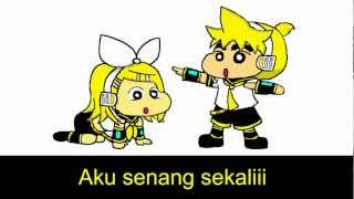 Kagamine Len - Crayon Shinchan OP Indonesian version