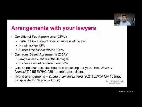 Contract Conversations: Litigation funding
