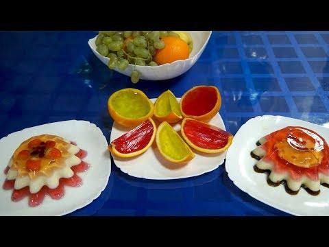 Детский десерт из желе