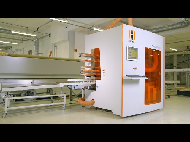 The HOLZ HER EVOLUTION 7405 4mat - Vertical CNC Machining Center