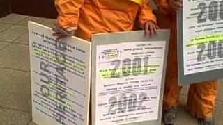 Display Of Magna Carta Timeline In June Torture Awareness Month