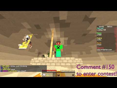 [GIVEAWAY] Minecraft TITAN ACCOUNT GIVEWAY! (CLOSED) 2015