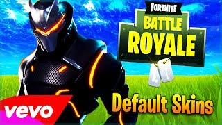 """Default Skins"" Foster The People - Pumped up Kicks (Fortnite Song Parody)"