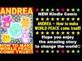 [STAR WARS version]Kindle Comic ANDREA How to make WORLD PEACE come true!!!