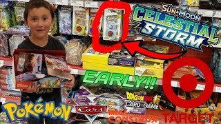 Hunting Tons Of New Toys & Finding Early Pokemon Cards At Target! We Bought A Whole Box Of Toys!!