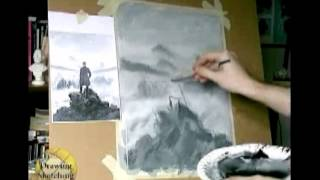 Caspar David Friedrich : draw like the old masters (part 1 of 8)