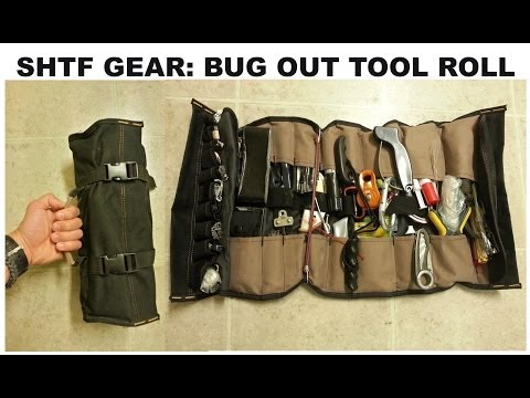 SHTF Gear: Tool Roll (Urban Bug Out Option) | Canadian Prepper