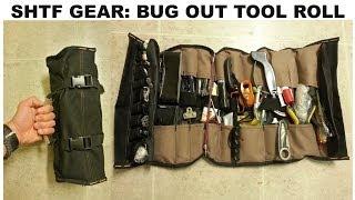 Shtf Gear: Tool Roll (urban Bug Out Option)