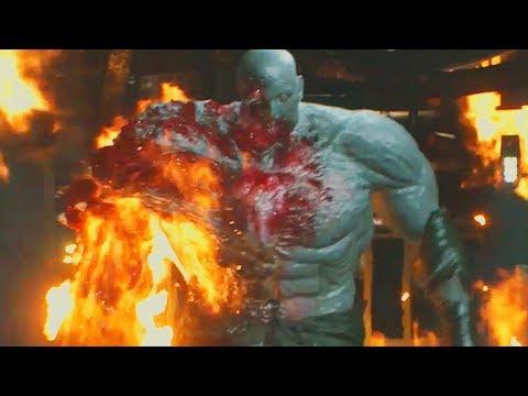 Resident Evil 2 Remake Leon Vs Super Tyrant Full Fight