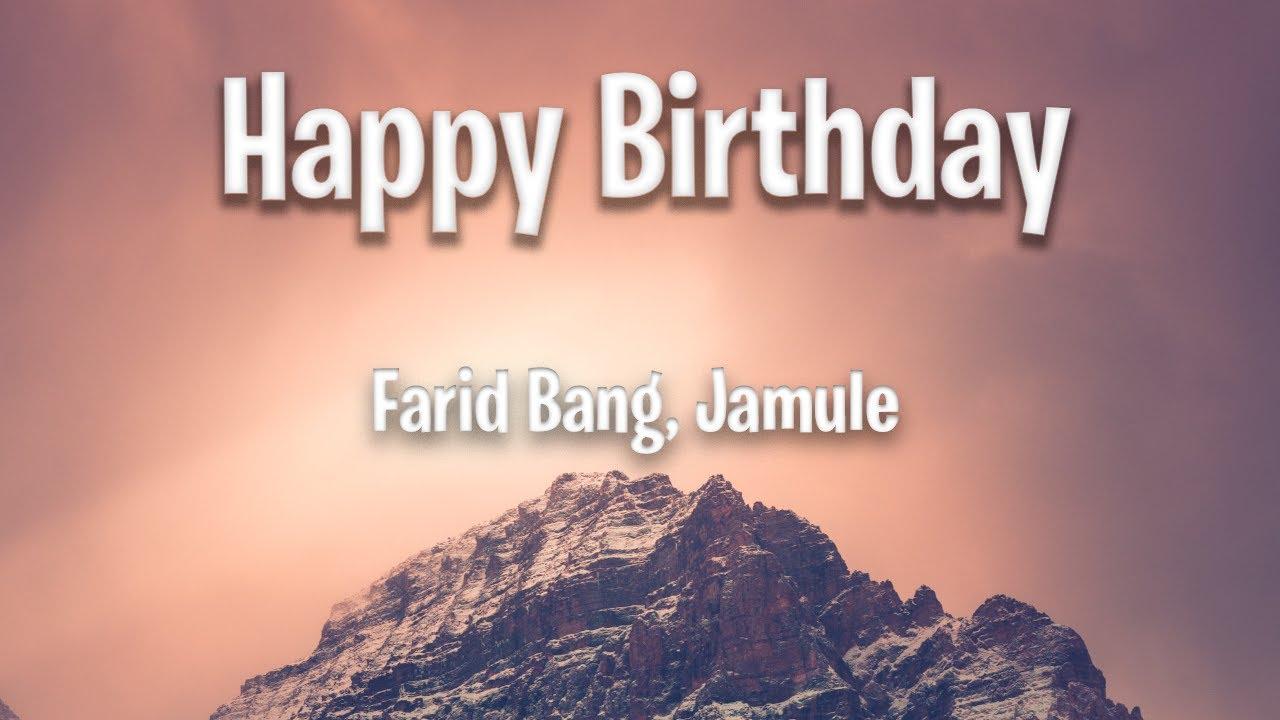 Farid Band Jamule Happy Birthday Lyrics
