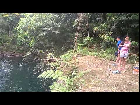 cliff diving challenge (HUUUHAAAAA!!!) -- lucban,quezon