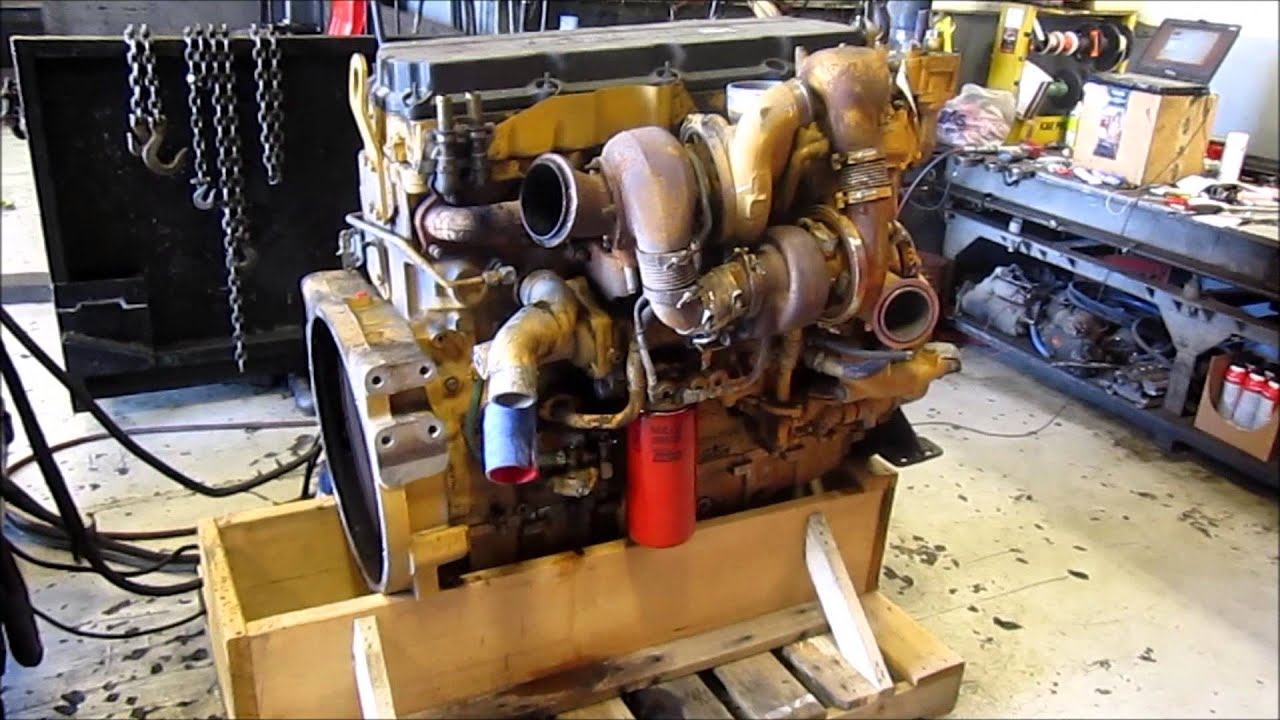 2006    Caterpillar    C13 Acert Diesel    Engine    Running KCB  YouTube