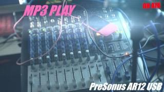 프리소너스 AR12 - 스마트폰 연결후 MP3플레이해보…