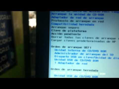 Desactivar UEFI Bootear Formatear e instalar cualquier sistema operativo