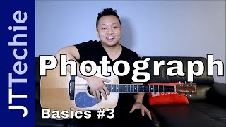 How to Play Photograph by Ed Sheeran on Acoustic Guitar for Beginners | Easy Tutorial | BASICS #3
