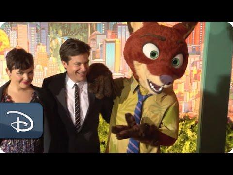 Ginnifer Goodwin & Jason Bateman - 'Zootopia' | Walt Disney World