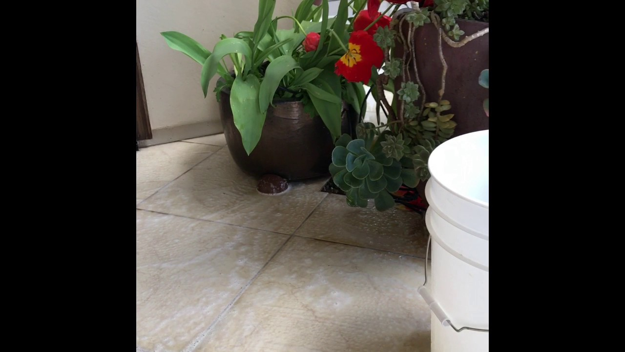 How to clean and remove rust from porcelain tile youtube how to clean and remove rust from porcelain tile dailygadgetfo Choice Image