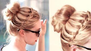 видео Создаем красивые прически на праздник на средние пряди волос по советам стилистов