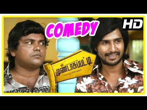 Mundasupatti Comedy Scenes | Part 1 | Vishnu | Kaali Venkat | Munishkanth | Latest Tamil Comedy
