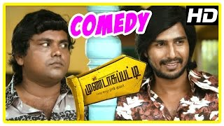 Mundasupatti Comedy Scenes | Part 1 | Vishnu | Kaali Venkat | Munishkanth | Latest Tamil Comedy
