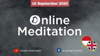 Online Self Healing Meditation | Bunda Arsaningsih  (English Translation Available)