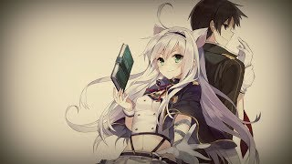 [AMV] Систина и Глен- Просто за руку держать... |Аниме клип|Белая кошка и учитель|Романтика|