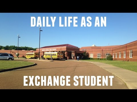 DAILY LIFE AS AN EXCHANGE STUDENT | Maria Giménez