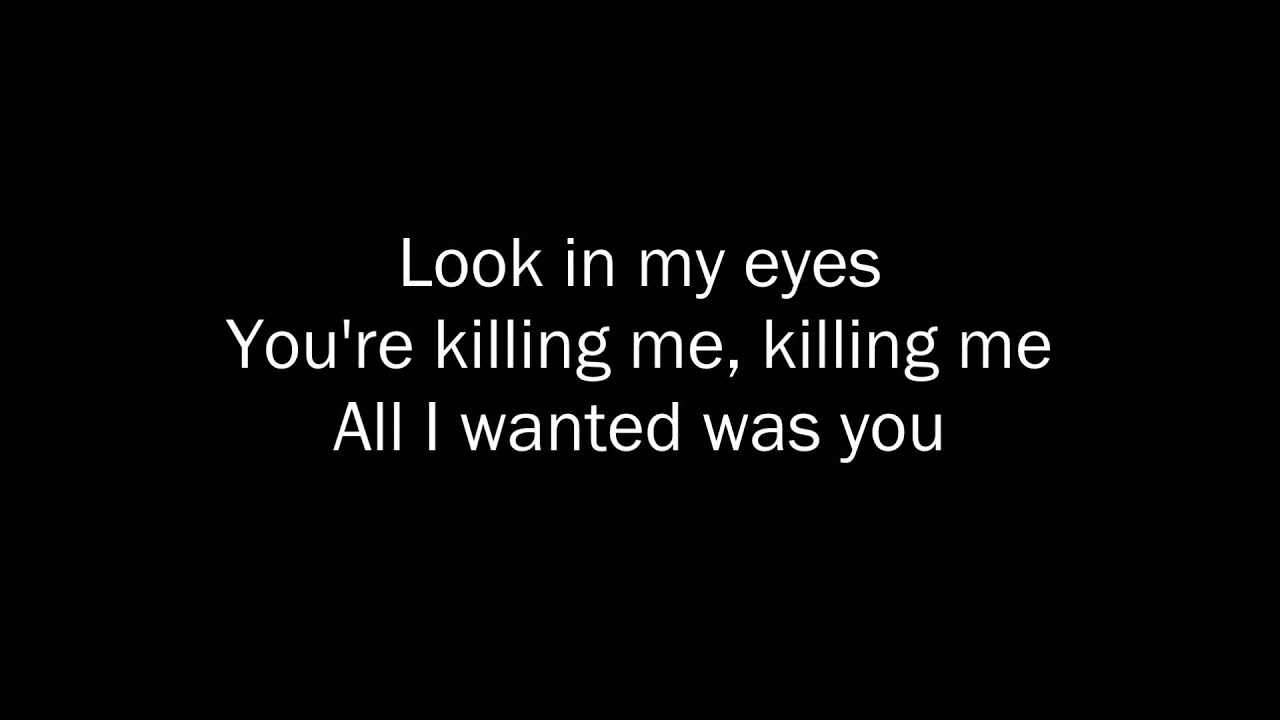 30 Seconds To Mars - The Kill (Bury Me) - Lyrics - YouTube