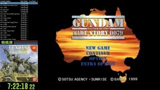 Gundam Side Story: Rise from the Ashes Any% NG+ Hard Speedrun - 28:41 Game Time (WR??)