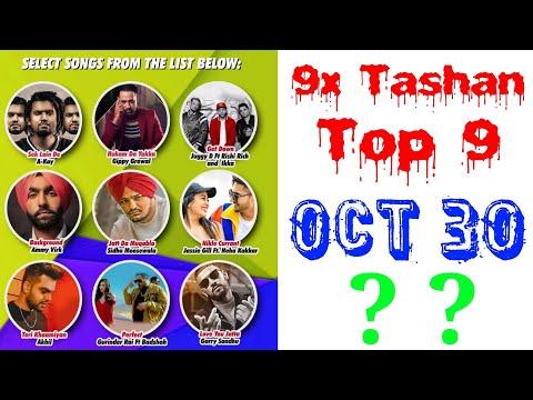 9x Tashan Top 9 of This Week- October 30, 2018 | Latest Punjabi Songs October 2018 |