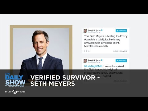 Download Youtube: Verified Survivor - Seth Meyers: The Daily Show