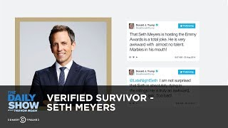 Verified Survivor - Seth Meyers: The Daily Show thumbnail