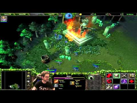 Lobos plays Warcraft III: The Frozen Throne (Part 1)
