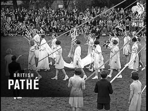 May Day Celebrations At Elstow (1939)