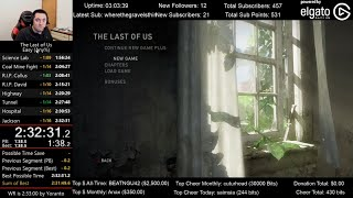 The Last of Us Speedrun World Record! (2:32:31) on Easy mode (Any%)