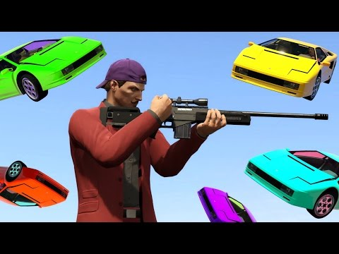 DODGE THE KILLER FLYING CARS! (GTA 5 Funny Moments)