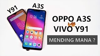 Mending A3S ?? - Vivo Y91 vs Oppo A3S Indonesia