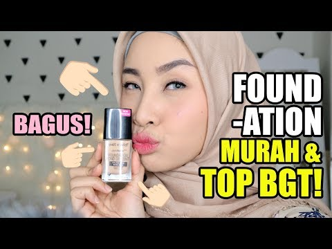FOUNDATION MURAH DAN BAGUS + REVIEW & FIRST IMPRESSION WET AND WILD PHOTO FOCUS FOUNDATION