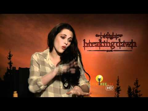 Kirsten Stewart talks about female crush - Twilight Breaking Dawn Interview from YouTube · Duration:  5 minutes 5 seconds