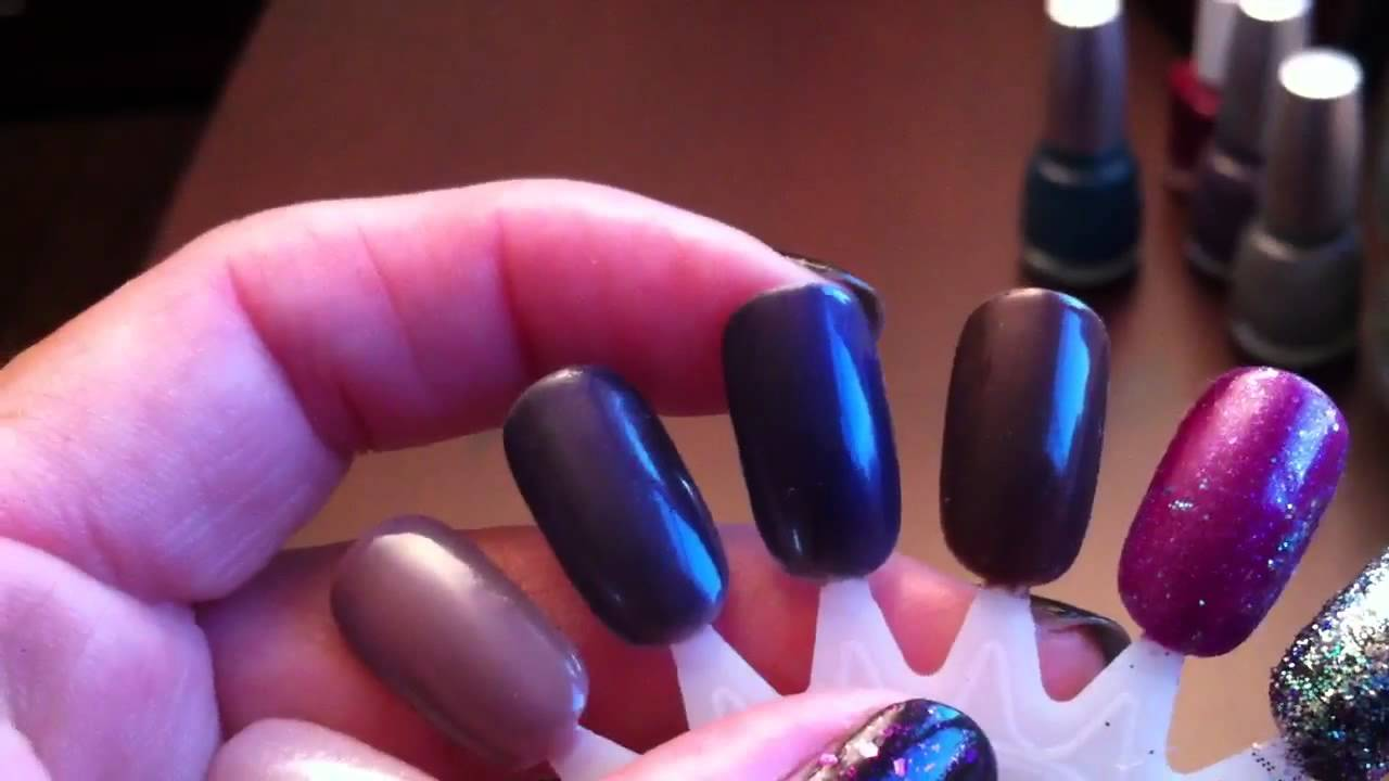 Young Nails maniQ swatches and Nubar Gelicure - YouTube
