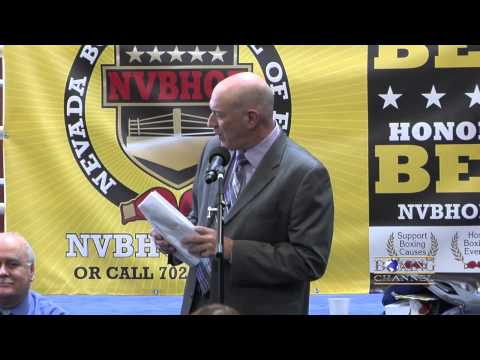 Nevada Boxing Hall of Fame: 2015 Inductees.