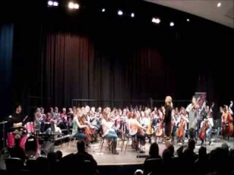 Moxie Strings Concert with North Muskegon Orchestras Part III Finale (Ramnee Ceilidh)