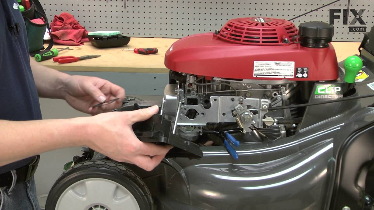 honda lawn mower repair how to replace the carburetor float [ 1280 x 720 Pixel ]