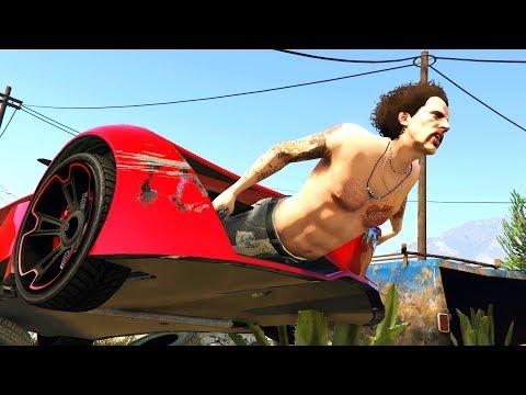 LOS MAYORES FAILS Y WINS DE GTA 5 !! - ElChurches