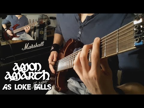 Amon Amarth - As Loke Falls Guitar Cover (HD - Tabs - All Guitars - Multi-Angle)
