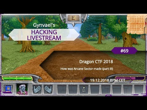 Repeat Hacking Livestream #68: How was Arcane Sector made (part 2